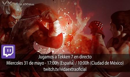 Streaming de Tekken 7 a las 17:00h (las 10:00h en Ciudad de México) [finalizado]