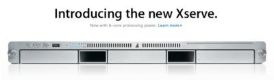 Nuevos Xserve, la novedad de hoy en la Apple Store