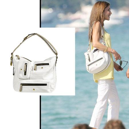 Rania de Jordania luce el Pashmy Bag de Tod's