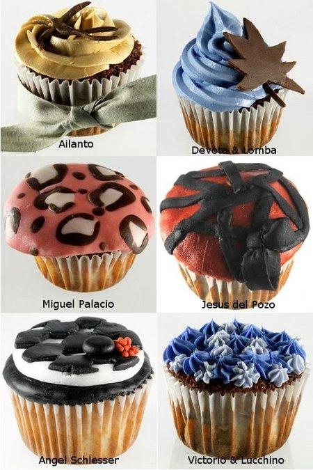 La pasarela de los cupcakes
