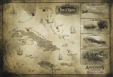 'Assassin's Creed IV': Ubisoft muestra su mapa y el póster de Todd McFarlane