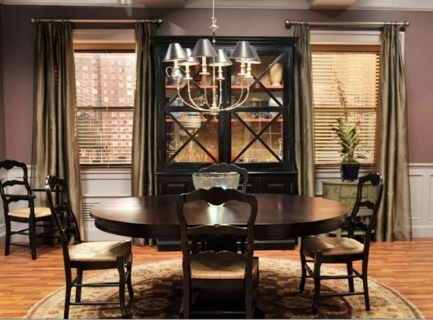 Alicias Apartment Dining Room On Good Wife 611x452
