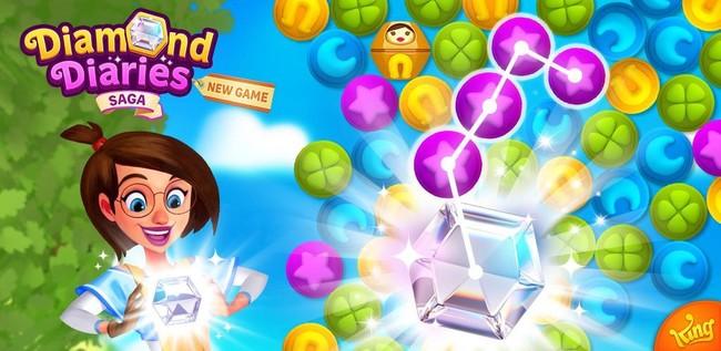 Así es Diamond Diaries Saga, el último y adictivo título de los creadores de Candy Crush