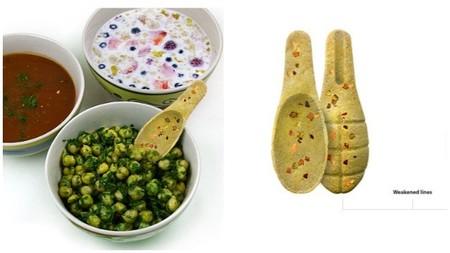 Cucharitas comestibles