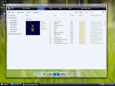Windows Media Player 11, para junio