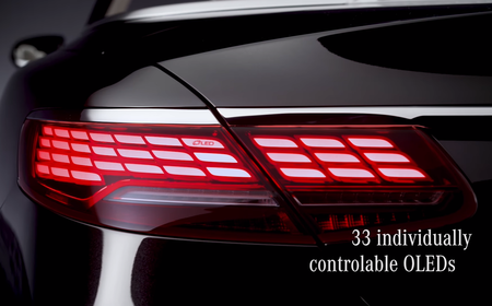 Mercedes Benz brillará en Frankfurt presentando nuevas luces con tecnología OLED