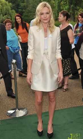 Más celebrities de blanco: Kate Bosworth