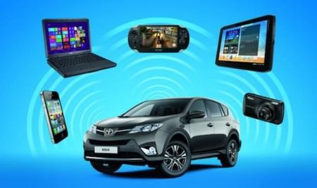 Tecnología en el coche: los últimos accesorios WiFi de Toyota