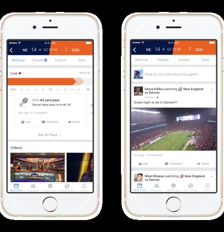 Facebook lanza Sports Stadium, una nueva sección para los amantes del deporte