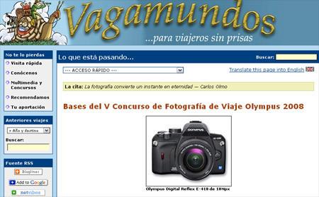 Concurso de Fotografía de Viaje Olympus 2008
