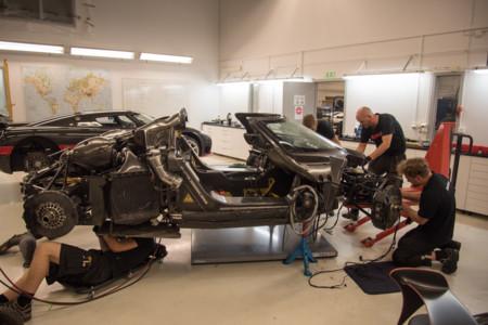 Koenigsegg ha encontrado la causa del accidente del One:1 en Nürburgring