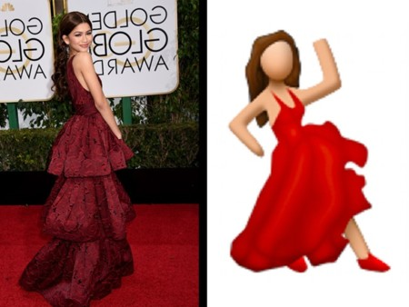 ¿A qué se parece tu vestido? Parecidos razonables de la alfombra roja de los Globos de Oro