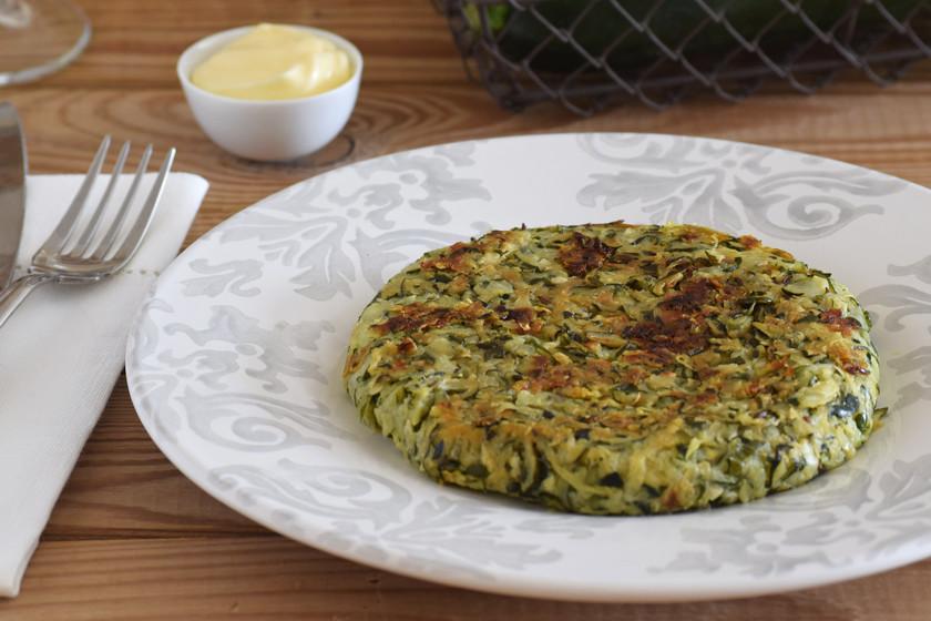 Rösti de calabacín: receta vegetariana ligera con solo tres ingredientes