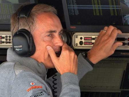 Martin Whitmarsh no descarta perder su lugar como jefe del equipo McLaren