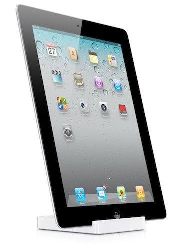 Apple acompaña el iPad 2 con una nueva base