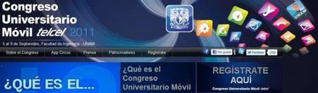 Congreso Universitario Móvil Telcel 2011 del 5 al 9 de septiembre