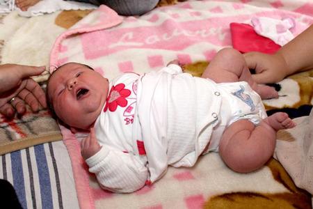 Bebé macrosómico en Hungría 2