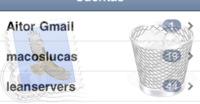 Problema con la aplicación Mail en el iPhone OS 3.0
