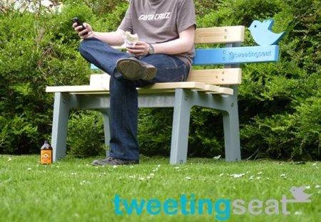 Tweetingseat, el asiento de exteriores que twittea