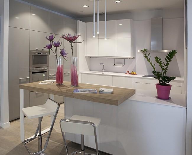 Nuevo showroom santos chamart n by brezo un espacio for Ver cocinas montadas