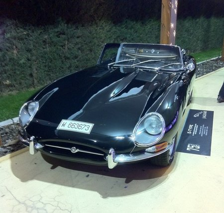Jaguar E-Type frontal