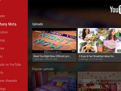 YouTube a 60fps podría llegar pronto a Android TV