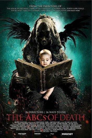 Imagen con el cartel de 'The ABCs of Death'