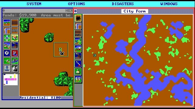 SimCity (Maxis, 1989)