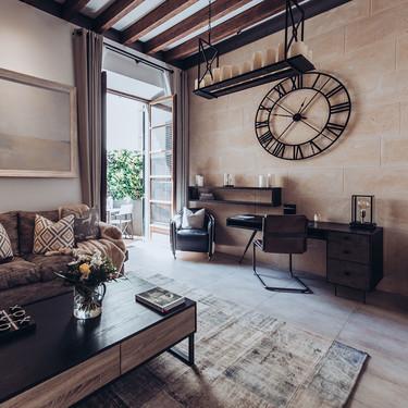 Puertas abiertas: un apartamento moderno con toques industriales en Palma de Mallorca