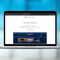 Con esta herramienta puedes hacer una captura de pantalla completa de una web con tan solo introducir su URL
