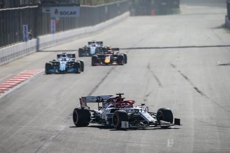 Raikkonen Baku Formula1 2019