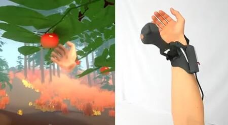 Microsoft quiere conseguir que al fin tengamos manos en la realidad virtual: este es su Haptic Pivot, un mando para lograrlo