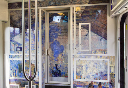 Impressionist Art Public Trains France 9
