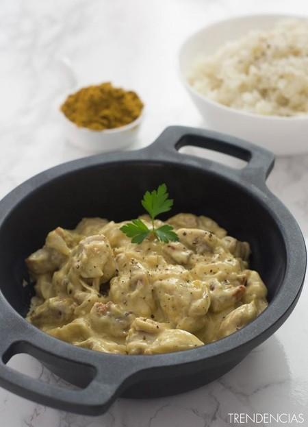 Pollo Curry Presentacion