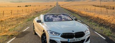 Probamos el BMW M850i Cabrio: 530 CV para un descapotable rápido, ágil y confortable como pocos