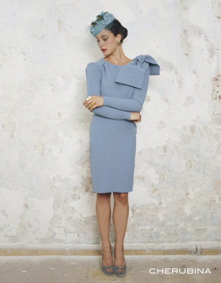 Vestido Azul Cherubina