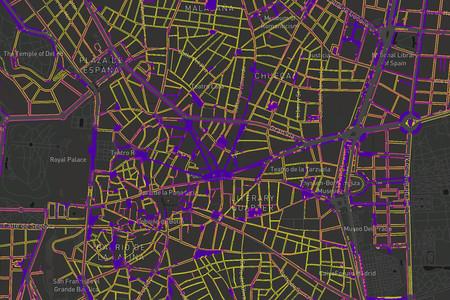 ¿Qué calles son lo suficientemente anchas como para pasear distanciados? Este mapa lo ilustra