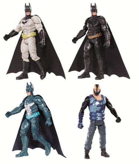 Mattel lanza una nueva línea de figuras y accesorios de Batman para celebrar el estreno de El Caballero Oscuro