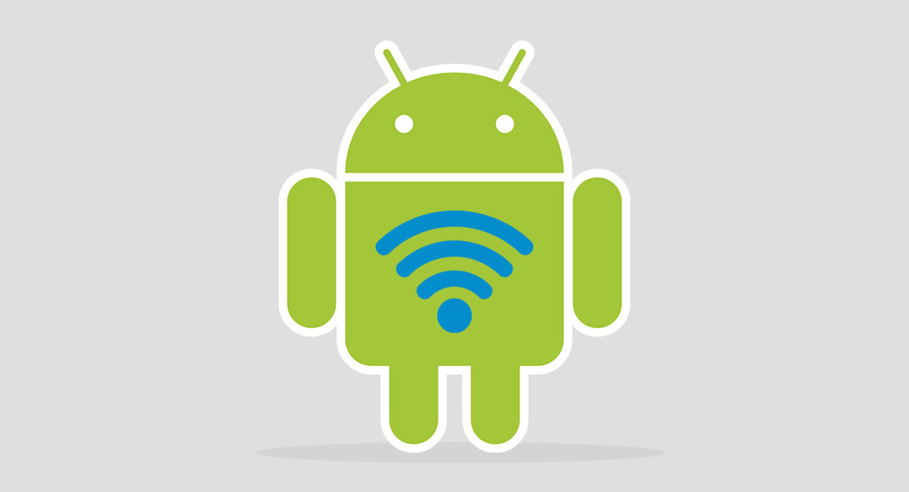 How to manually configure the WiFi connection in a mobile Android