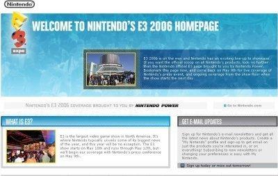 Nintendo lanza su web del E3
