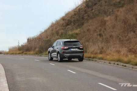Ford Kuga Hybrid 2021 consumo gasolina