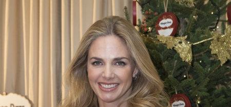 Genoveva Casanova empeñada en endulzarnos las Navidades con una creación muy de adviento de la diseñadora Paola Navone