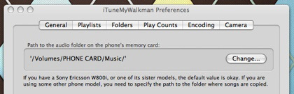 iTunesMyWalkman: sincroniza fotos y música