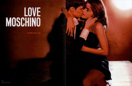 Love Moschino 2008 Elisa Sednaoui