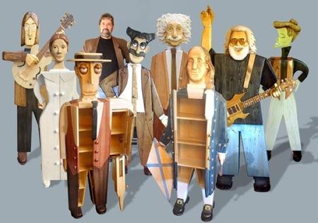 Tus personajes favoritos, reales y de ficción, organizan el almacenaje en tu salón