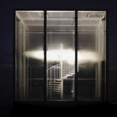 Cartier presenta una instalación artística que te hará sentir como en el cielo de la perfumería