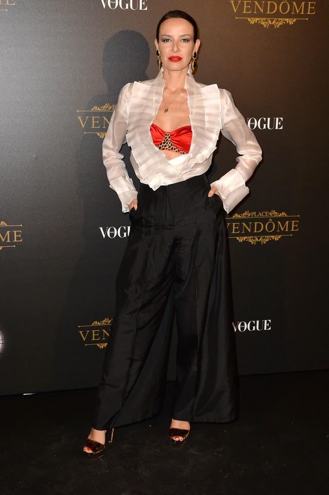 fiesta vogue paris fashion week Carolina Parsons