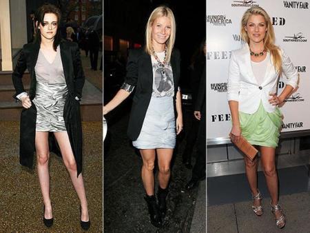 Faldas drapeadas: un look apto para la oficina y para salir a la noche