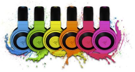 Razer Kraken Neon disponibles en seis colores fluor