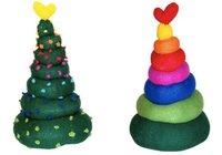 Los árboles de Navidad de Agatha Ruiz de la Prada